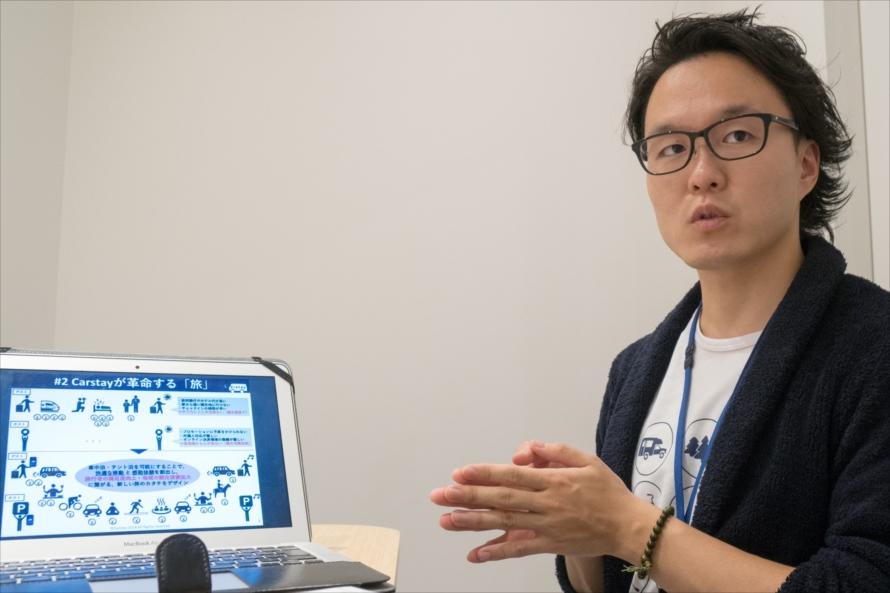 Carstay株式会社 CEO 宮下 晃樹木氏