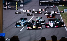 イオンモールで時速300キロのレース!スーパーフォーミュラ・ヴァーチャルシリーズ 第2回西東京大会【eスポーツ】