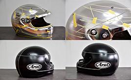 SUPER GTの選手も愛用中! オリジナルヘルメットの製作現場へ行ってみた