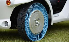 空気の抜けもパンクもない!「エアレスタイヤ」が予感させるタイヤの未来