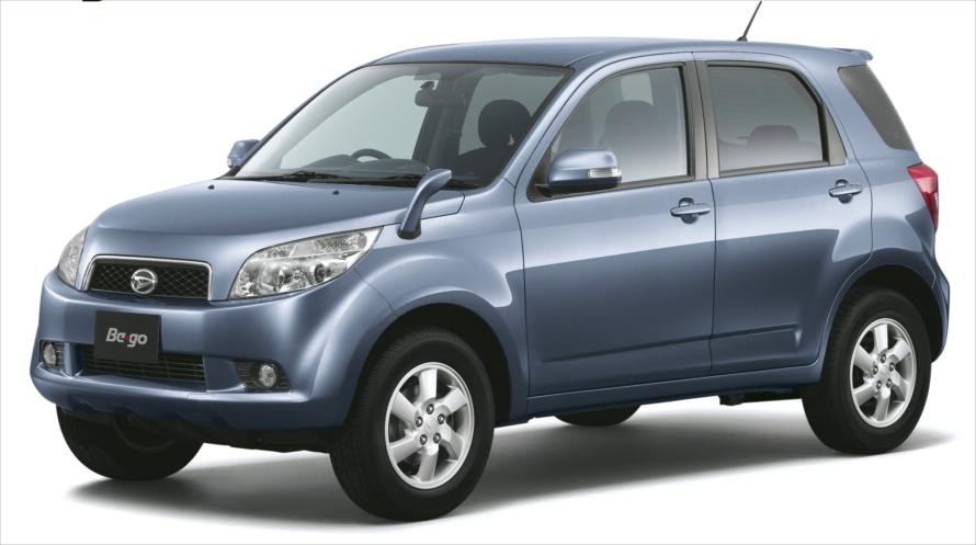 テリオスの後継モデルとして登場した「ビーゴ」。トヨタ「ラッシュ」としても販売された