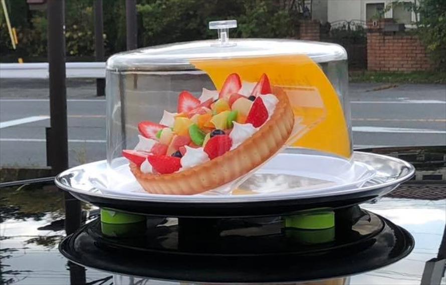 軽井沢スィーツタクシー(長野県)の行灯
