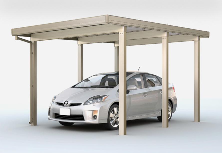 耐荷重を上げるために柱を増やす(1台用)