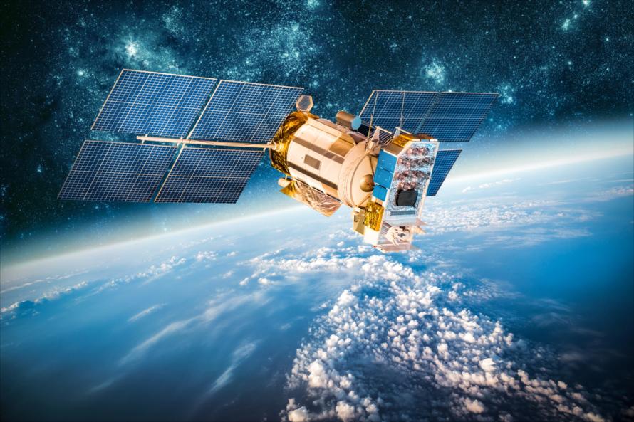 GPS用衛星が送信する信号は軍事用信号をのぞき、基本的に誰でも受信できる(画像はイメージ)