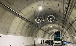 トンネル内の「ジェットファン」を開通目前の阪神高速6号大和川線で見てきた