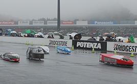 単三電池40本で走る「Ene-1GP」後編:雨が降る中で展開されたレース、そして結果は?