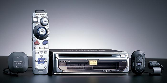 HDDを搭載したカロッツェリア「サイバーナビ」