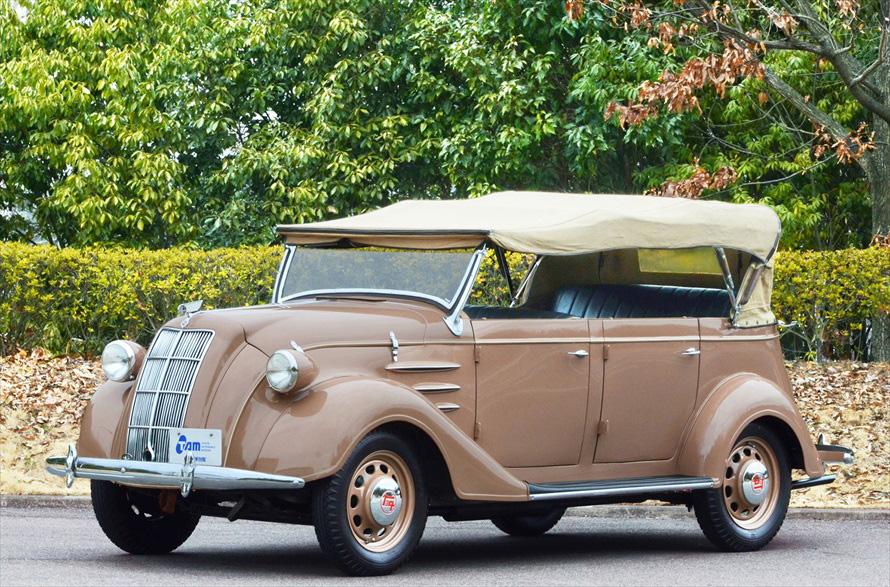 当時のクルマの一例、トヨタ AB型フェートン(1938年)