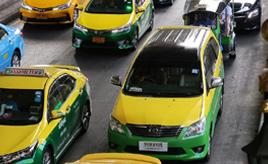 <世界のタクシー事情>カローラの多さに驚き。だけど日本のカローラとは違う!?世界にはどんなタクシーがあるのか? タイ・バンコク編
