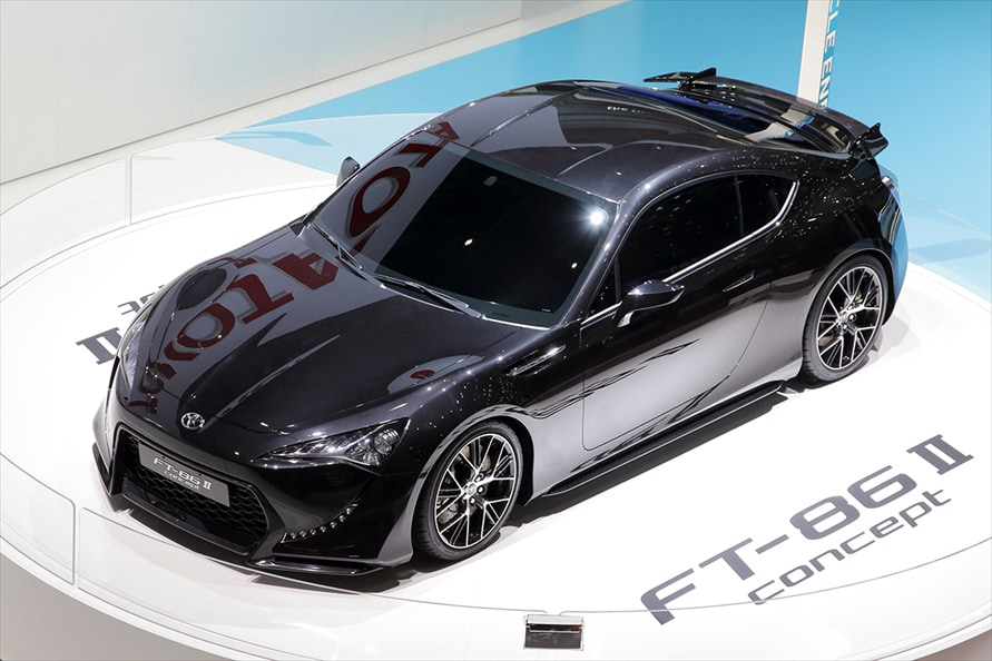 「FT-86 II concept」(2011年3月 ジュネーブモーターショー)