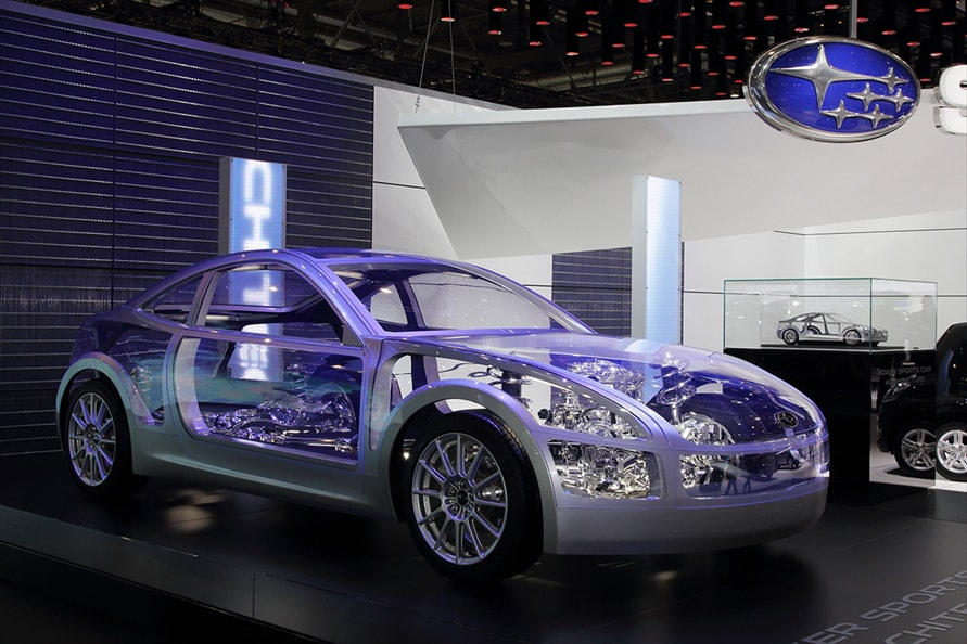 「BOXER Sports Car Architecture」(2011年3月 ジュネーブモーターショー)