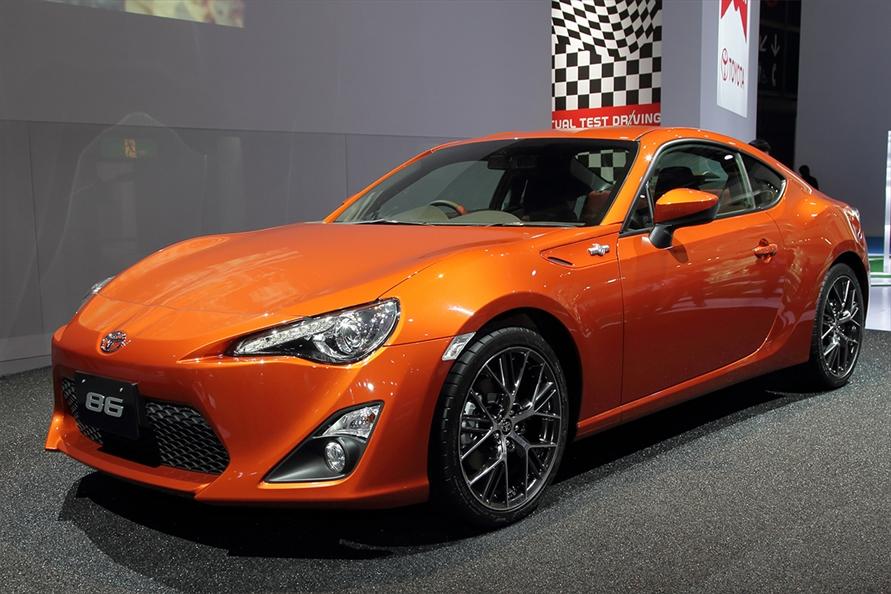 2011年の東京モーターショーで正式デビューしたトヨタ「86」