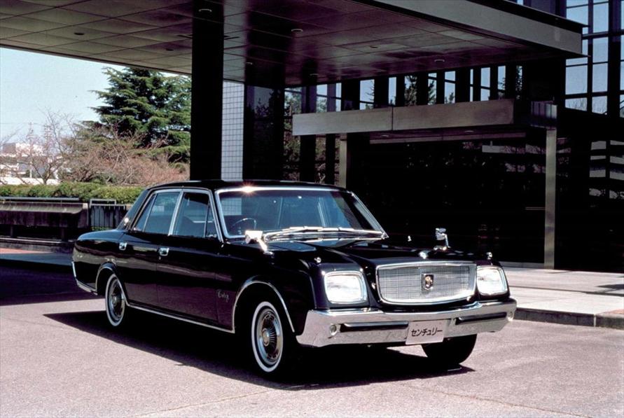 皇室にも利用される超高級車、センチュリーも東富士工場を代表する1台だ