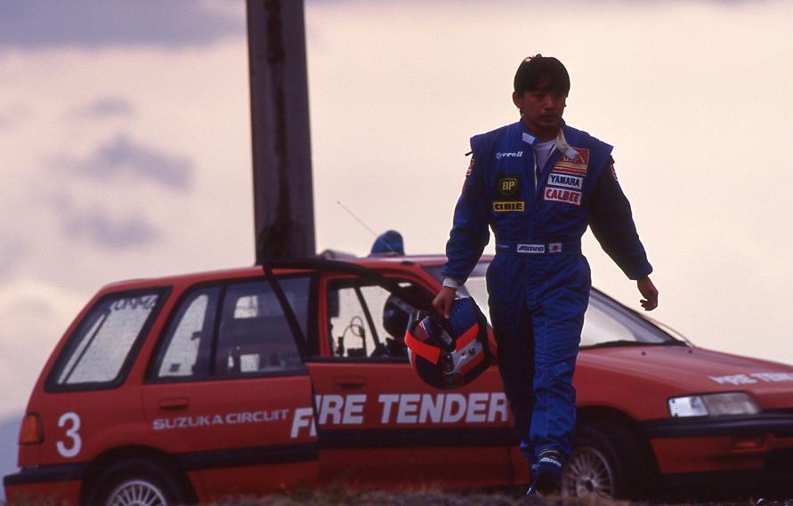 (1993年:F1日本グランプリ時)