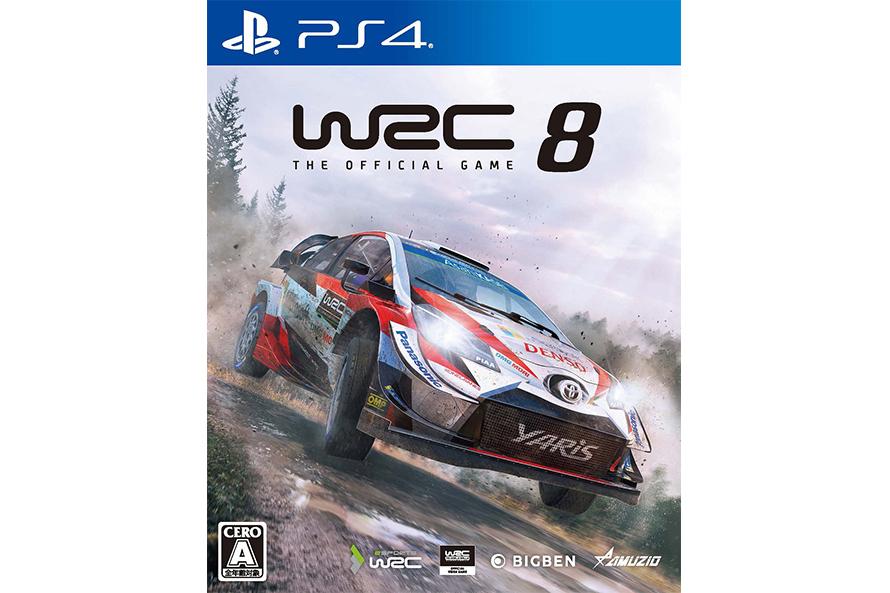 『WRC8 FIA ワールドラリーチャンピオンシップ』 発売元:オーイズミ・アミュージオ
