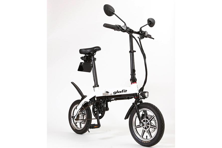 ペダルを備えたことで自転車としても使える「Hybrid Bike GFR」(写真:glafit)