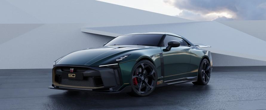 「GT-R50 by イタルデザイン」は日産GT-Rのなかでも、特に特別な仕様。(写真:日産自動車)
