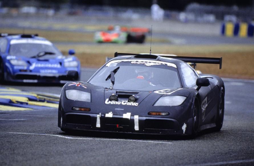 ル・マン24時間耐久レースで勝つために開発された「マクラーレンF1 GTR」。(写真:マクラーレン)