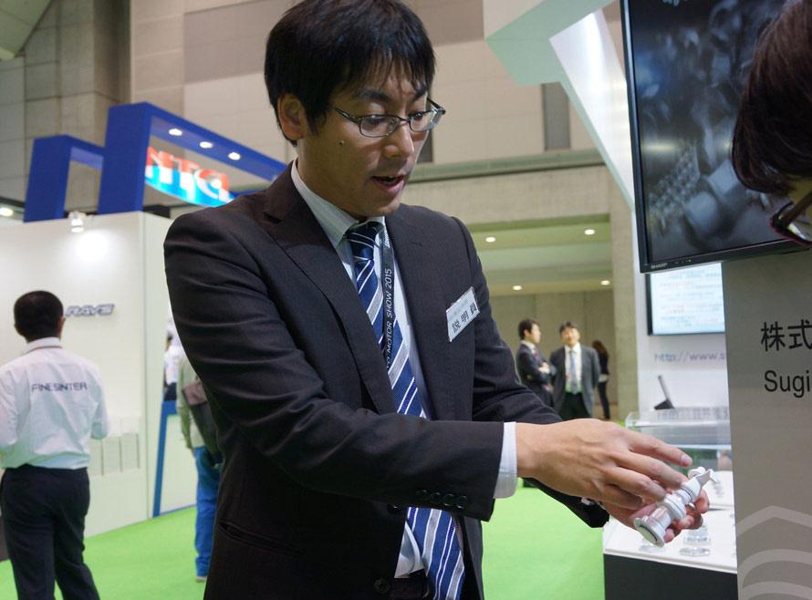 杉浦製作所 グローバル営業部の吉田裕司さん
