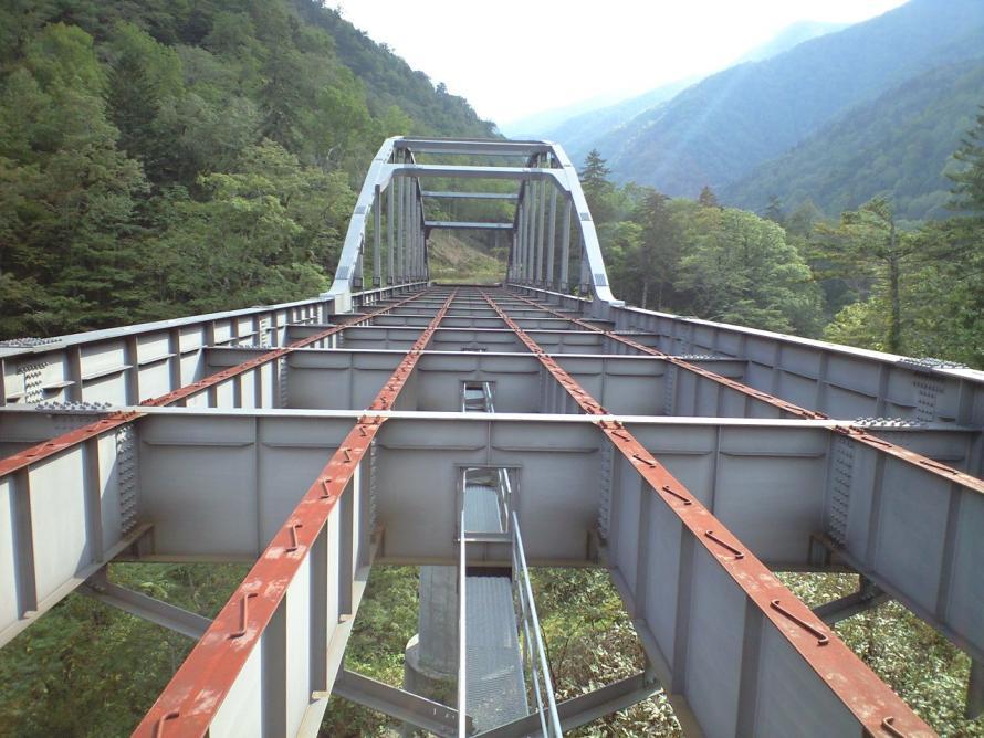 スライドでも紹介された未成道の一例。未完成のまま放置された橋が山の中にあるそう 写真提供:LEVEL7G