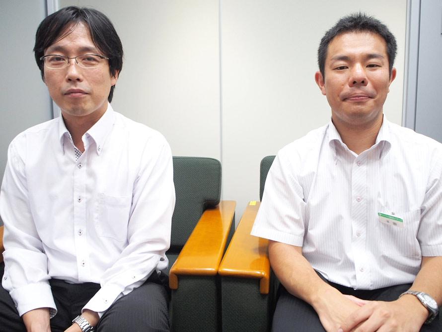 (左から)株式会社SECプランニング 秋山健一さん、JR東日本レンタリース株式会社 千田遼典さん