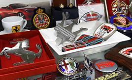 【イタリア自動車雑貨店】イタリア車グッズだけを扱うファン必見の専門店