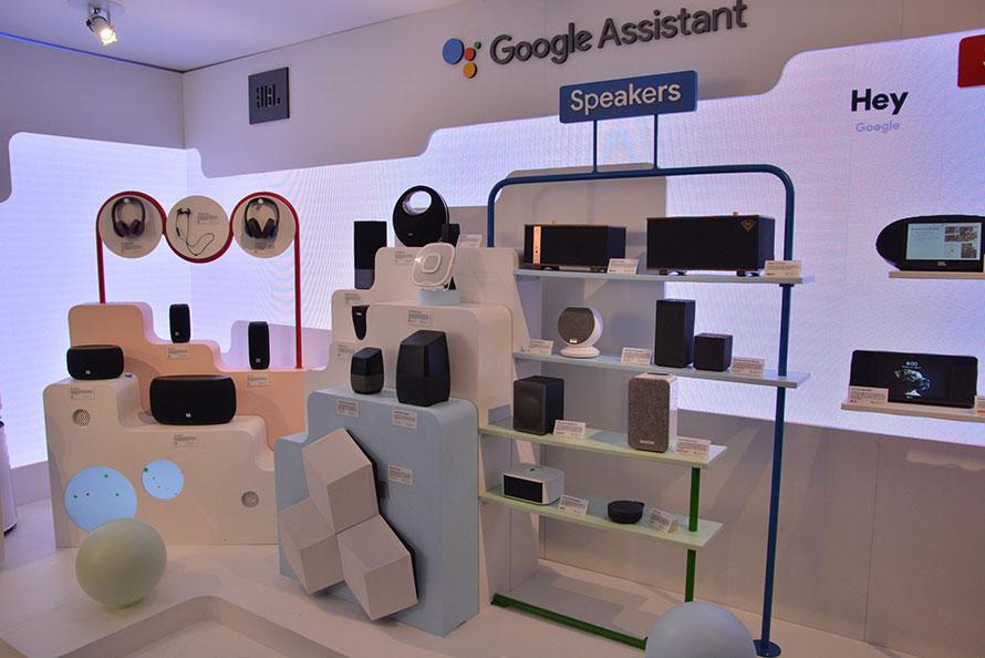 Googleのスマートスピーカー