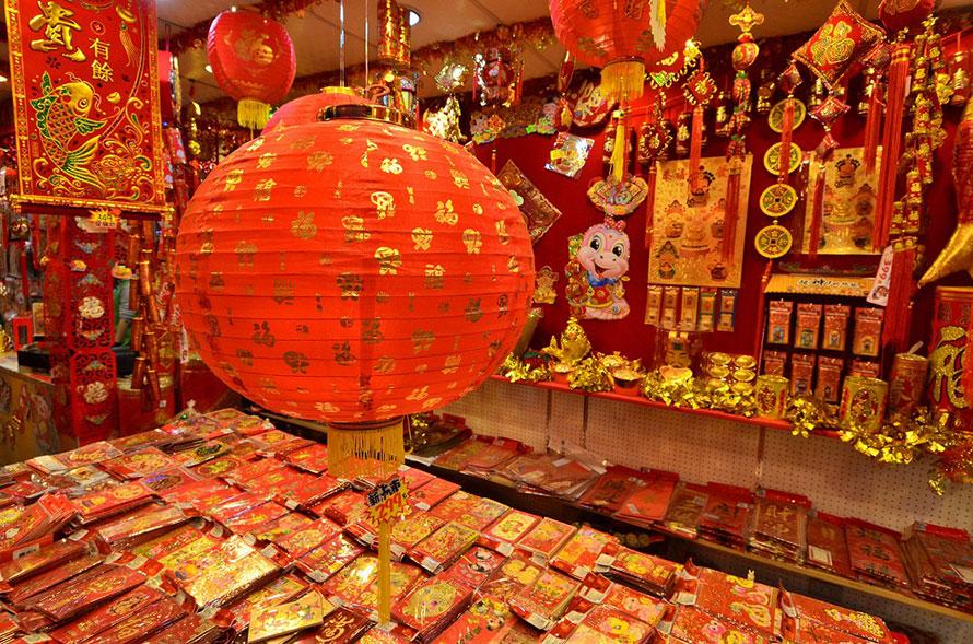 台湾の旧正月といえば鮮やかな装飾の提灯や爆竹が定番だそうです