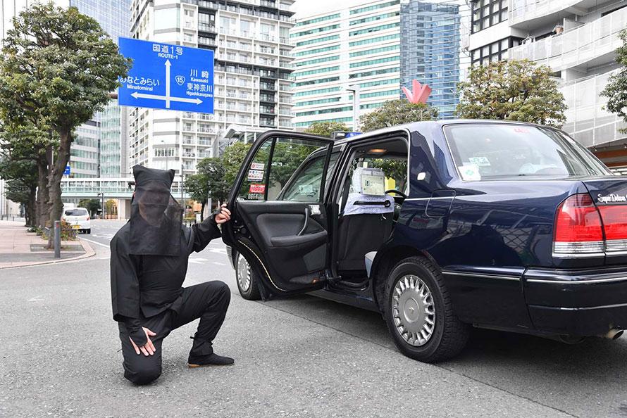 乗客は黒子の指定料金として310円を支払えば、利用できる