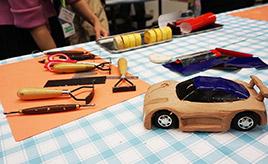 プロと一緒にオリジナルカーを作ろう! 「ワクエコ・カーモデラー教室」