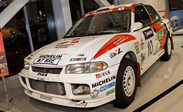 三菱ランサーの歴代ラリーカーがMEGA WEBに! 3台のレジェンドマシンを紹介