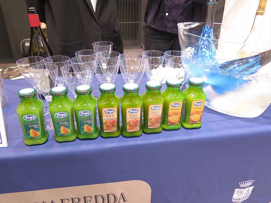 ヨーガのジュースは素材の味が生きている