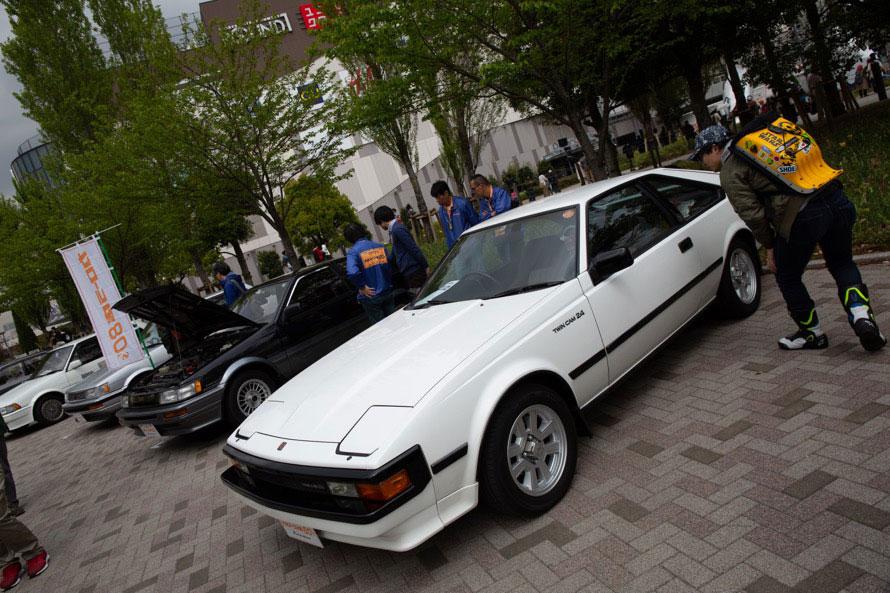 トヨタ「カローラ店」が80年代に取扱いしていた車種だけの展示グループ「カローラ店80's」
