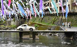 18回を迎えるツーリングラリー「チェント・ミリアかみつえ」。往年の名車からスーパーカーたちが九州の大自然を走破