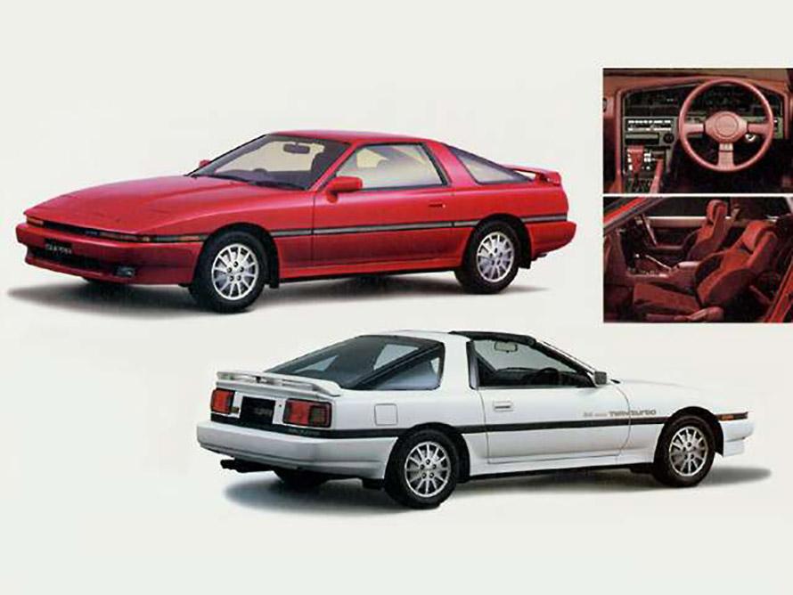 1986年に日本で発売が始まった「スープラ」。A70型なので「70(ナナマル)スープラ」とも呼ばれる。