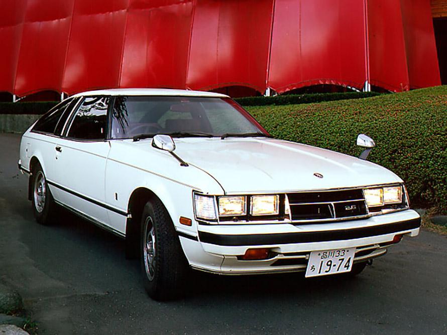 1978年に誕生した初代の「セリカXX」。アメリカでは「スープラ」の名前で販売されていた。