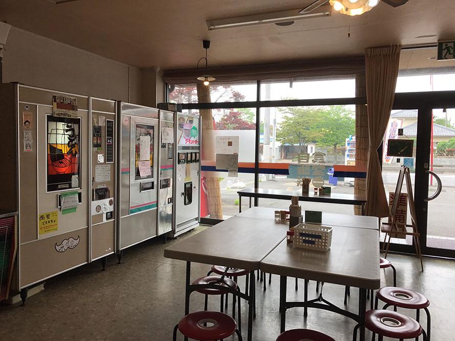 写真:自販機食堂