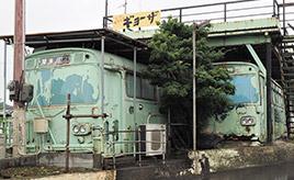 その名も「場巣」、琴参バスの廃車体を使った定食屋