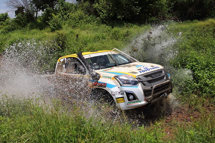 ライバルは同じ日本メーカーによるタイ生産のピックアップトラック「いすゞD-MAX」