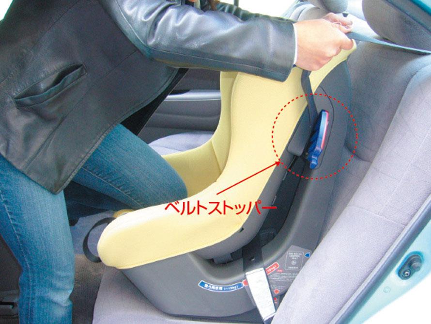 ベルト固定方式しっかり取付方法より (画像提供:独立行政法人 自動車事故対策機構)