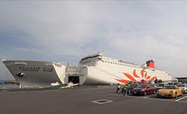 ドライブ旅の片道はフェリーで。新造船「さんふらわあ さつま」で行く鹿児島県志布志