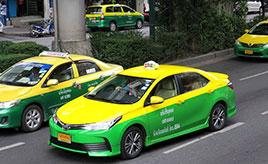タクシーに新車が続々投入?【バンコクの交通事情2018】