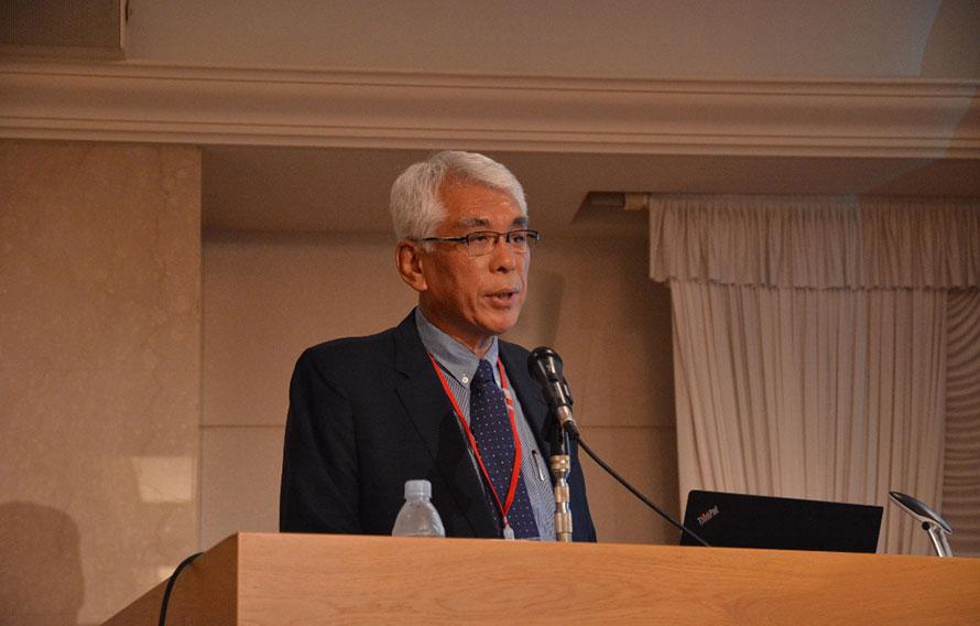 ▲K-NCAPから参加したユン・ヨンハン氏。