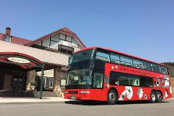 日本にたった3台! 北海道地元食材と見晴らし抜群のレストランバスに乗ってみた