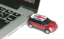 USBメモリーにBluetoothマウス……、かわいくて精密な「フェイス」のクルマ雑貨!