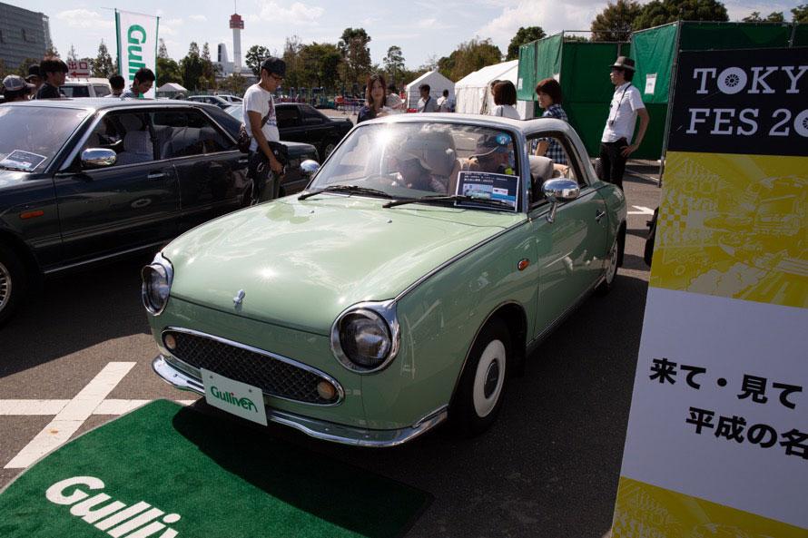1991年から2万台限定で販売された日産・フィガロ。乗り出し価格は「200万円」