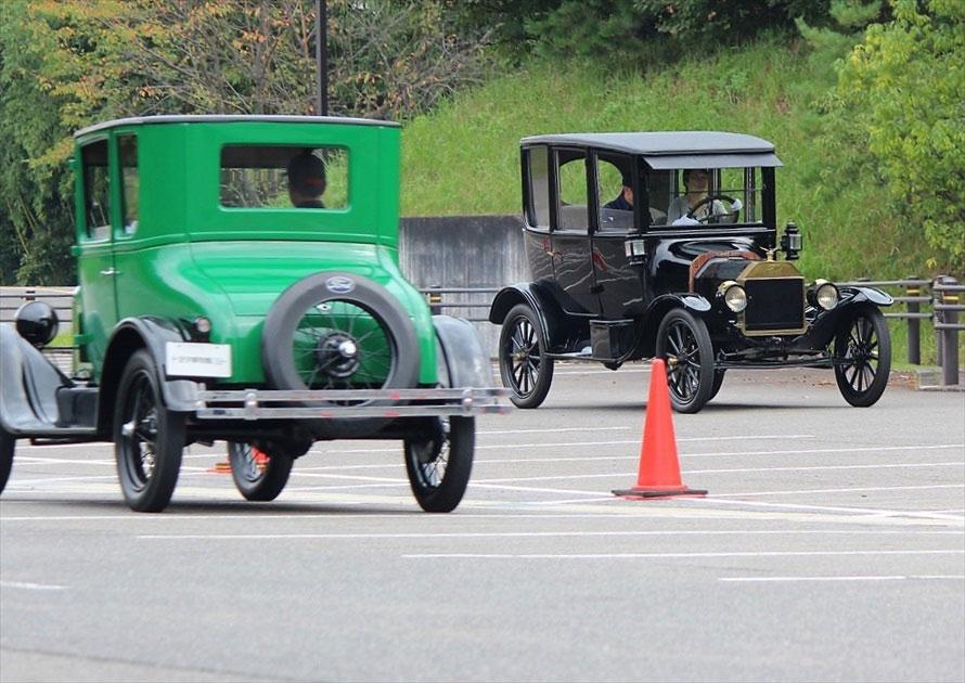 100年前の歴史的名車に乗れる!トヨタ博物館の「T型フォード運転講習会」