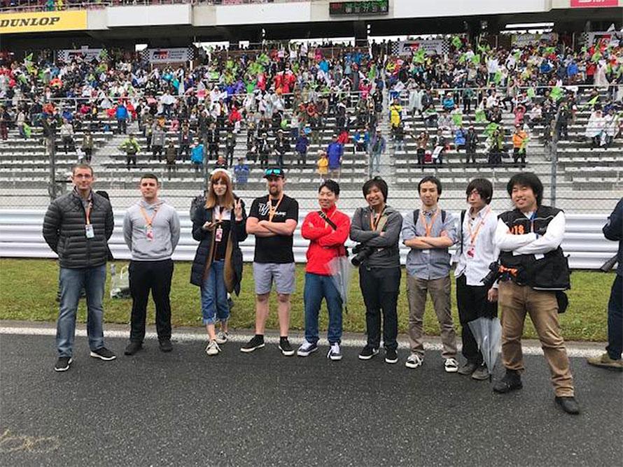 出場選手での記念撮影(LeMans eSports Seriesオフィシャルより)