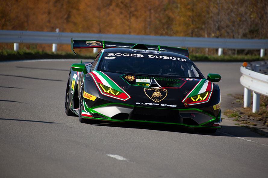 ランボルギーニ・ウラカンGT3レーシングカー