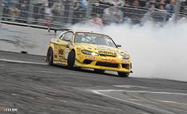 白煙が台場の空に舞い上がる! 第2回FIAインターコンチネンタル・ドリフティングカップレポート